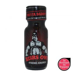 Poppers Bears Own 25ml pas cher