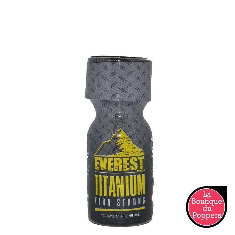 Poppers Everest Titanium 15ml pas cher
