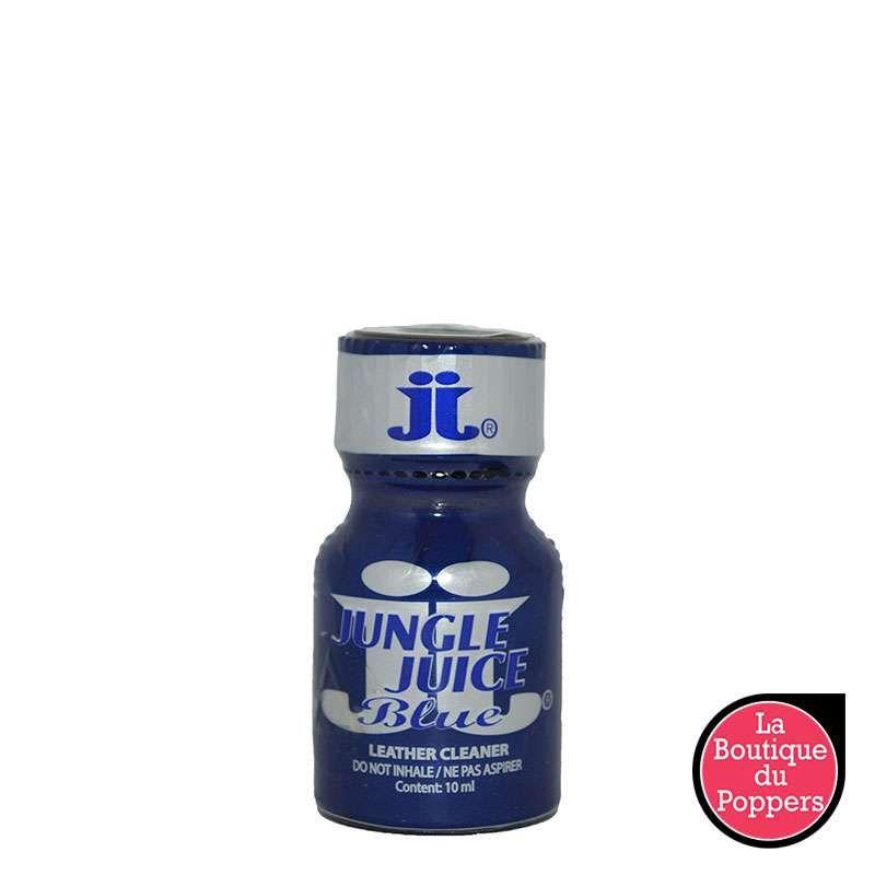 Poppers Jungle Juice Blue 10 mL pas cher