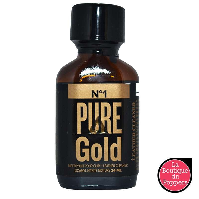 Poppers Pure Gold 24ml pas cher